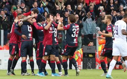 Cagliari-Fiorentina 5-2: video, gol e highlights della partita