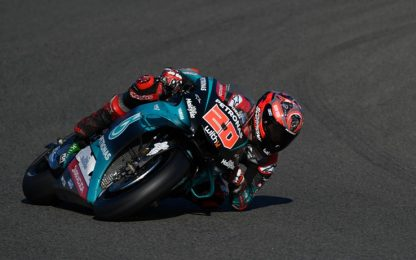 MotoGp, Gp Valencia, pole a Quartararo. VIDEO
