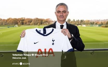 Mourinho si presenta al Tottenham: sono al massimo della felicità