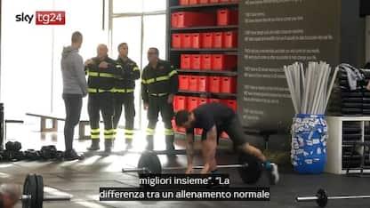 Un workout in onore dei vigili eroi di Alessandria