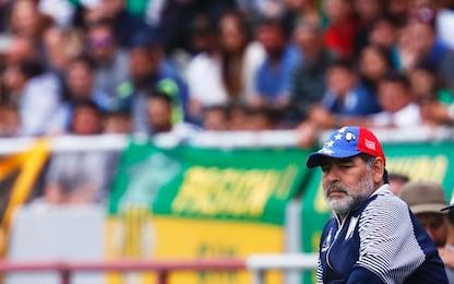 Maradona, niente dimissioni: resta l'allenatore del Gimnasia La Plata