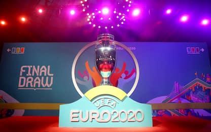 Euro 2020: Italia con Svizzera, Turchia, Galles