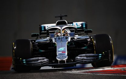 Formula 1, Gp Abu Dhabi: vince Hamilton. Video highlights della gara