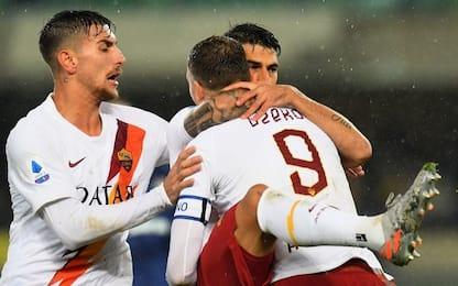 Verona-Roma 1-3: video, gol e highlights della partita di Serie A
