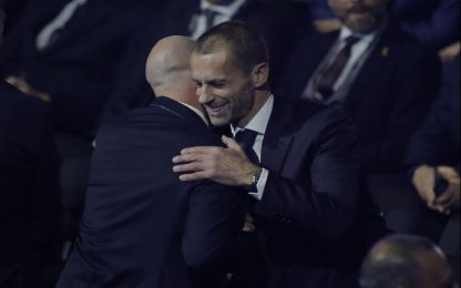 Calcio, presidente Uefa Ceferin: più tolleranza per fuorigioco con Var