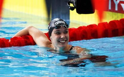 Europei di nuoto in vasca corta, Margherita Panziera oro nei 200 dorso