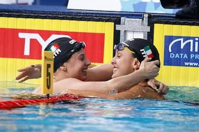 Europei di nuoto: nei 100 rana oro a Carraro, argento Castiglioni