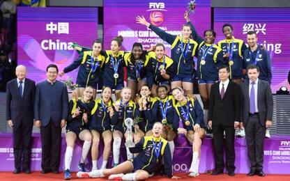 Volley, Civitanova e Conegliano vincono il Mondiale per club