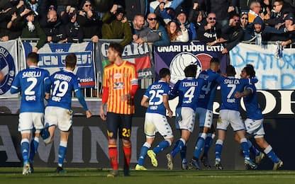 Brescia-Lecce 3-0: video, gol e highlights della partita di Serie A
