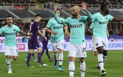 Fiorentina-Inter 1-1: video, gol e highlights della partita di Serie A