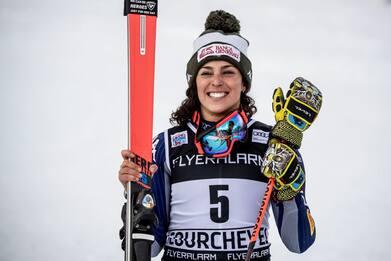 Coppa Mondo sci, cancellate gare ad Aare, Brignone vince