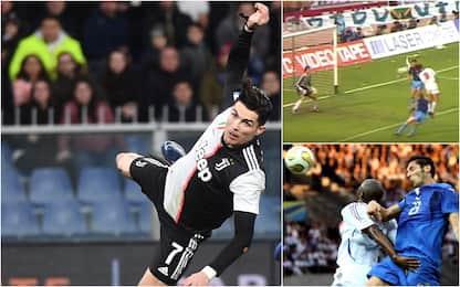 CR7 e non solo: i gol di testa nella storia del calcio: FOTO