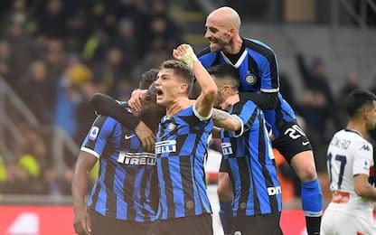 Serie A, l'Inter travolge il Genoa 4-0. FOTO