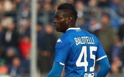 Serie A, stop di due giornate per Mario Balotelli