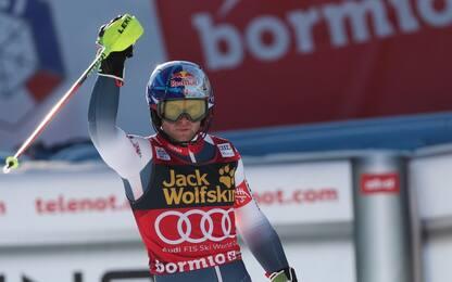 Sci, Pinturault vince combinata a Bormio, lo slalom tradisce Paris