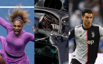 Williams, Hamilton, Ronaldo: gli sportivi del decennio. FOTO
