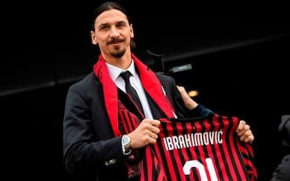 """Milan, Ibrahimovic si presenta: """"Sono pronto, spero di giocare subito"""""""