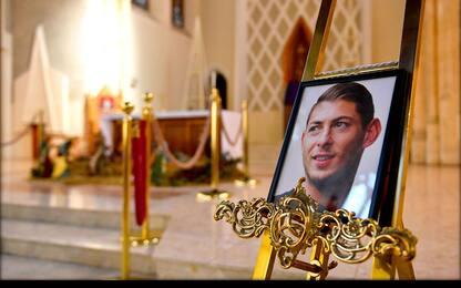 Il tributo per Emiliano Sala a un anno dalla morte. FOTO