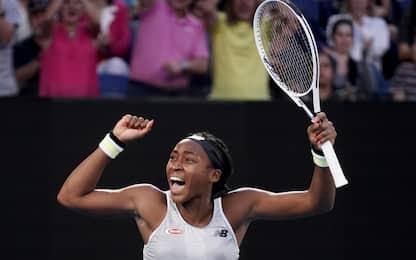 Tennis, Australian Open: Williams eliminata, sorprende la 15enne Gauff