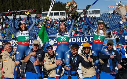 Coppa del Mondo di sci, tripletta delle donne azzurre in Bulgaria