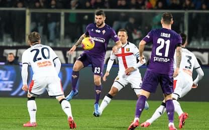Fiorentina-Genoa 0-0: video e highlights della partita di Serie A
