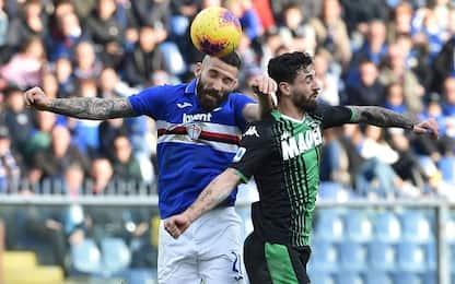 Samp-Sassuolo 0-0: video e highlights della partita di Serie A
