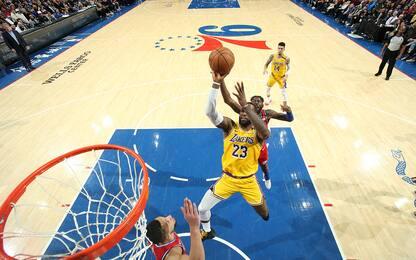 Nba, LeBron James è il terzo marcatore di sempre: classifica