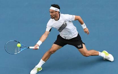 Australian Open, fuori anche Fognini: nessun italiano ai quarti