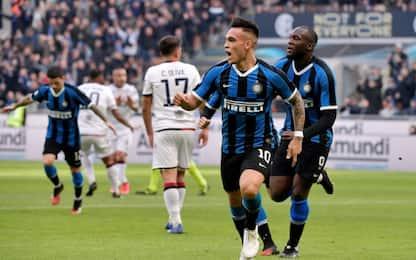 Inter-Cagliari 1-1: video, gol e highlights della partita di Serie A