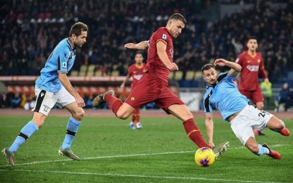 Roma-Lazio 1-1: video, gol e highlights della partita di Serie A