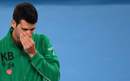Djokovic positivo al Coronavirus, annullato torneo tennis Adria Tour