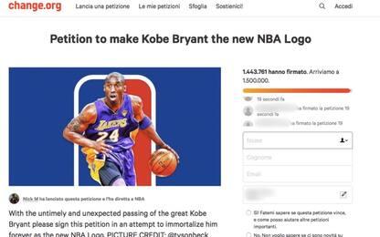 Kobe Bryant nel logo Nba, petizione con un milione e mezzo di firme
