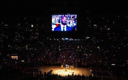 Kobe Bryant, il ricordo dei Lakers. FOTO