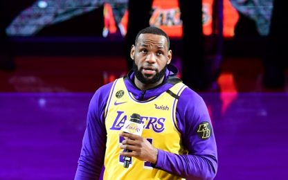 LeBron James, il discorso in ricordo di Kobe Bryant. VIDEO