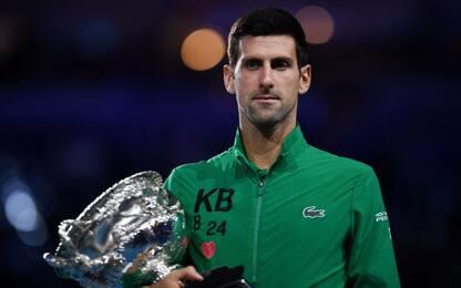 Australian Open, Djokovic batte Thiem in finale