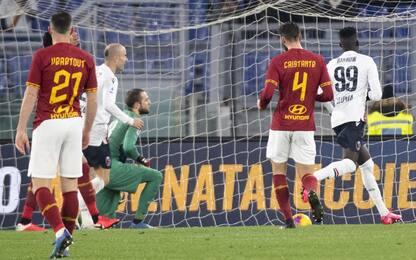Roma-Bologna 2-3: video, gol e highlights della partita di Serie A