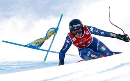 Sci, frattura al braccio a Garmisch per Sofia Goggia: stagione finita