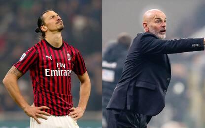 Inter-Milan, Ibrahimovic: perso fiducia. Pioli: arrabbiato con i miei