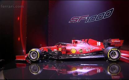 Ferrari 2020, le foto della SF1000