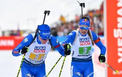 Biathlon, mondiali Anterselva: argento per staffetta mista Italia