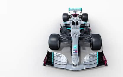 Formula 1, svelata la nuova Mercedes W11. FOTO