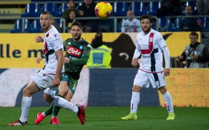 Cagliari-Napoli 0-1: video, gol e highlights della partita di Serie A