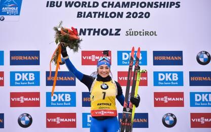 Mondiali di Biathlon, Dorothea Wierer vince l'oro nell'inseguimento