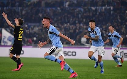 Serie A, Lazio-Inter 2-1. FOTO