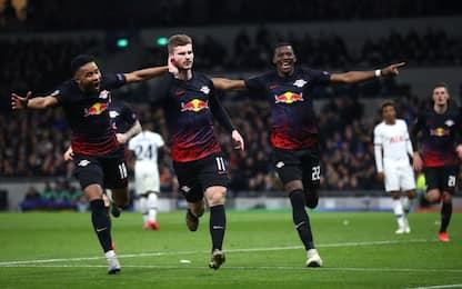 Champions, Tottenham-Lipsia 0-1: video, gol e highlights della partita