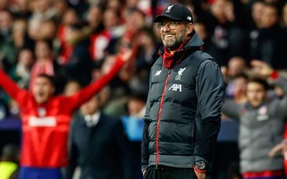 Liverpool, Klopp a tifoso dello United: non posso smettere di vincere