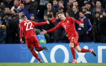 Champions, Chelsea-Bayern Monaco 0-3: video, gol e highlights