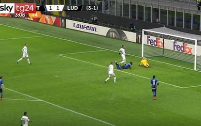 Inter-Ludogorets 2-1: video, gol e highlights della partita di Europa League