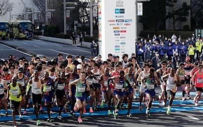 Coronavirus, a Maratona Tokyo solo top runner. FOTO