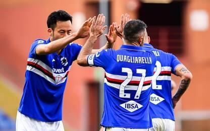 Sampdoria-Verona 2-1: video, gol e highlights della partita di Serie A
